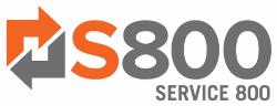 SERVICE 800 Logo